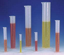 Cylinder, Double Graduated 250ml