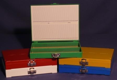 Slide Storage Box - 100-Slide 72/Case