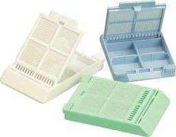 Micromesh Biopsy 4 Compartment Cassettes W/Attached Lids 1000/Ca