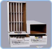 Slide Storage Unit-All Corrugated