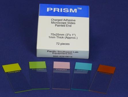 Microscope Slide, PRISM Charged Slide