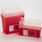 Sharps Container 7.5 Gallon Red Round